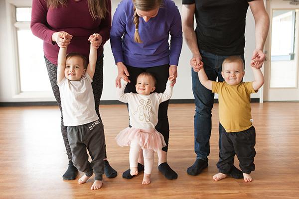Devotion Danceworks Calgary Giggle and Groove Preschool class