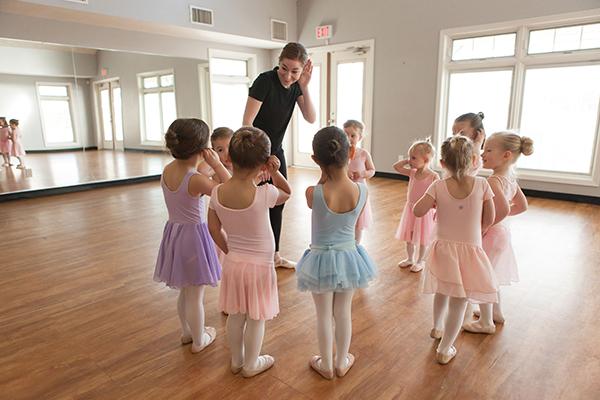 Devotion Danceworks Calgary Tiny Toes Preschool class